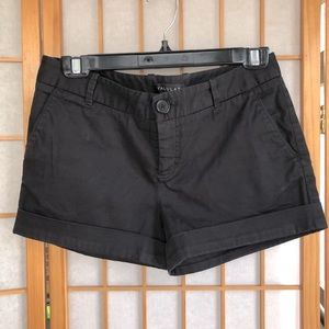 Talula black cuffed shorts Sz 4